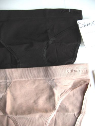 A0037 Calvin Klein NEW Perfectly Fit Solutions Shirred back Bikini D2919 PR NWT