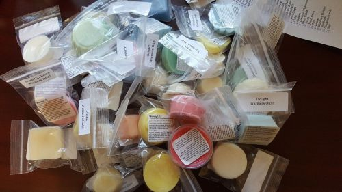 Handmade Soy Wax Melts Sampler Bag