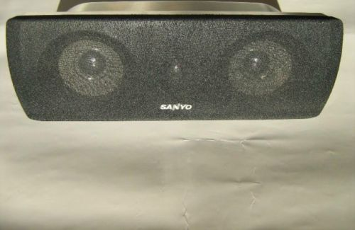 Sanyo SPEAKER housing model SX DWM 4500 C - CENTRAL unit ONLY - speakers wired