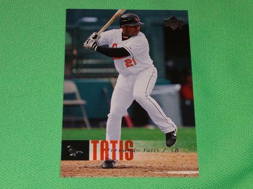 MLB Fernando Tatis Orioles 2003 Upper Deck Baseball GD-VG