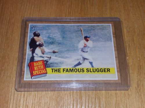 VINTAGE BABE RUTH SPECIAL 2011 TOPPS #138 GD-VG