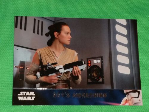 2016 Topps Star Wars Rey's Awakening Collectors Card Mnt