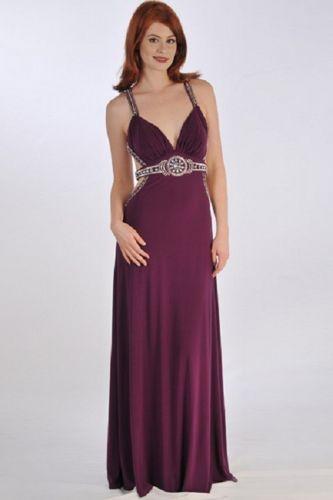 SIZE 18 Formal Dress ASPEED DESIGNS Hand Beaded Evening Bridal Prom Bridesmaids