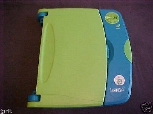 PRE TESTED LeapPad LeapFrog LEARNING SYSTEM w/BATMAN & brand new headphones