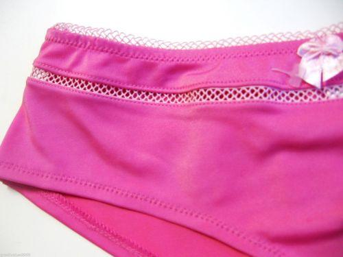 Z0101 New York Elegance NEW Pink Stretch Microfiber Picot Waistband Hipster M PR