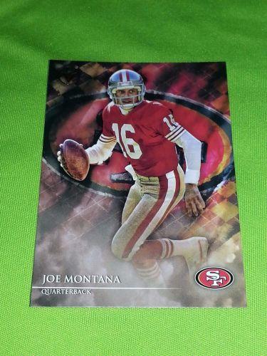 NFL JOE MONTANA 49ers 2014 TOPPS VALOR #82 MNT
