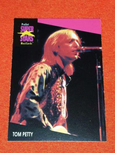 RETRO TOM PETTY 1992 PROSET ROCK & ROLL COLLECTORS CARD #218 MNT