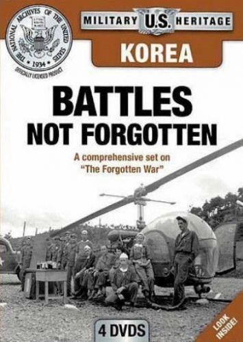 Korea Battles NOT Forgotten DVD 4 disc set National Archives President Truman