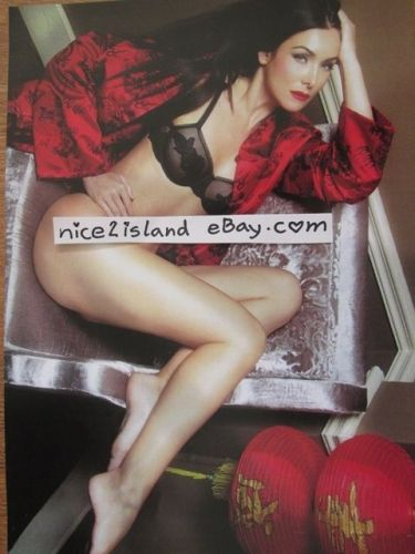 Miss Universe Natalie Glebova Photos Pin-up Girl Sexy Lingerie 4 Posters 8x11 in