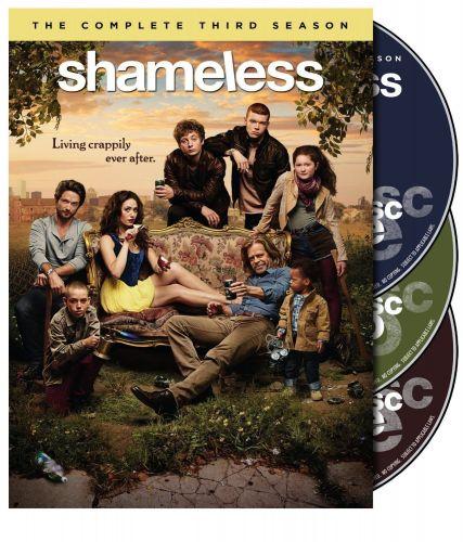 Shameless third Season 3 three boxed set DVD 2013 color 650 min. Gallagher Macy