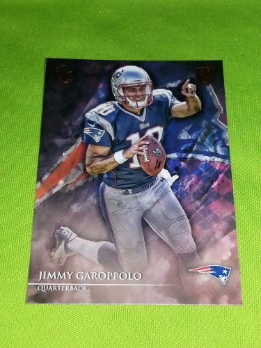 NFL JIMMY GAROPPOLO PATRIOTS 2014 TOPPS VALOR RC #68 MNT