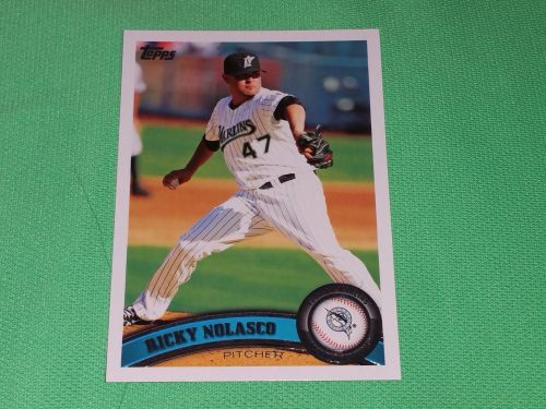 MLB Ricky Nolasco Florida Marlins 2011 Topps Baseball GD-VG