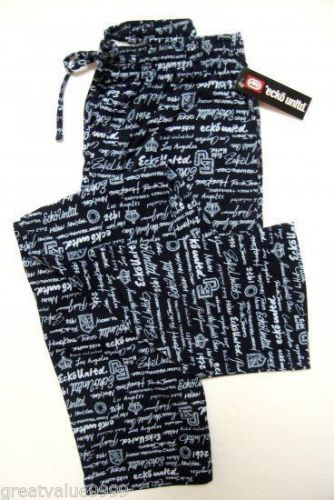 A375 ecko unltd Mens Logo Colletion Knit Lounge Pant EK8102P Navy/Blu S L XL New