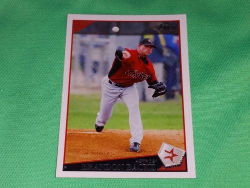 MLB Brandon Backe Astros Superstar 2009 TOPPS BASEBALL GD-VG