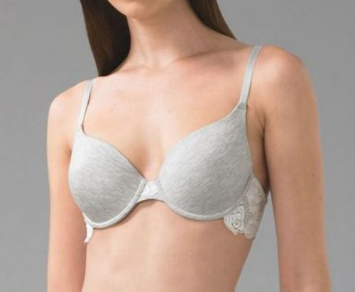 XB0201 Le Mystere NEW Heather Seamless Embroidered Lace Contour UW Bra 167 PR