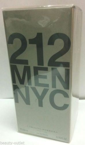 Carolina Herrera 212 MEN HOMME EDT 200ml Eau de Toilette NEUF & Authentique Vapo