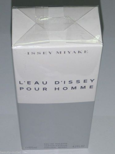 Issey Miyake L'EAU D'ISSEY Men EDT 125ml 4.2oz Eau de Toilette NEW BOX ORIGINAL