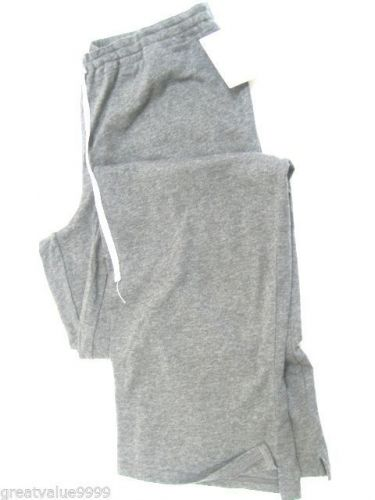 A0387 Calvin Klein Women's Jersey P J Pant With Drawing String S0500D Gray New