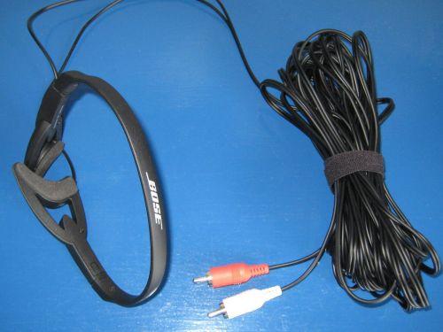 Bose ADAPTiQ audio Calibration Headset = Lifestyle AV18 AV38 AV48 V20 V30