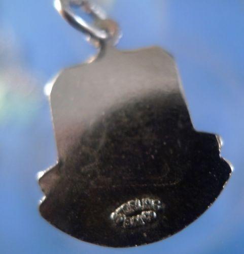 NEW BRUNSWICK Enamel & Sterling Silver Travel Shield Souvenir Charm