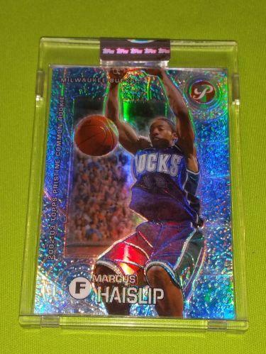 NBA MARCUS HALSLIP BUCKS 2003 TOPPS CHROME BOX TOPPER ECASSED /1899 GEM MNT