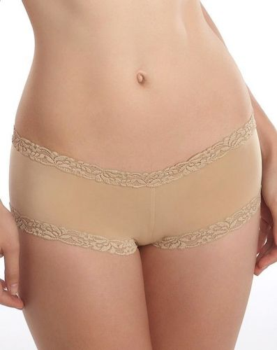 A0231 Natori Body Doubles Girl Embroidered Lace Brief Panties Hipster 156001 New