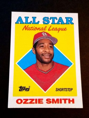MLB OZZIE SMITH 1987 TOPPS NL ALL STAR INSERT #400 GD-VG