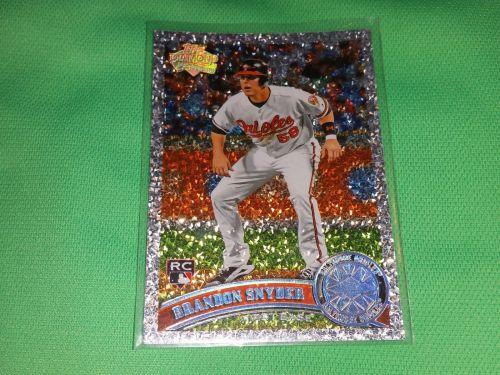 MLB Brandon Snyder Orioles SUPERSTAR 2011 TOPPS DIAMOND ANNIVERSARY RC MNT