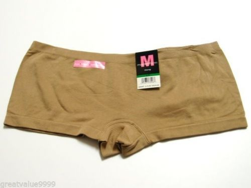 A0549 Maidenform Women's Seamless Panty Collection Boyshort 40711 Nude White New