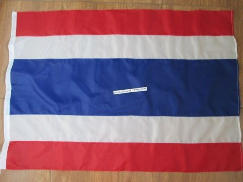 SIAM THAILAND Country Flag,Muay thai Banner Size 1.6x 2.3 ft,20 x 28 in,50x70 cm