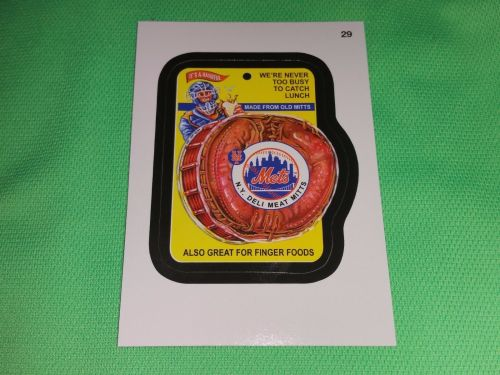 MLB NEW YORK METS 2016 WAKEY PACKAGES TEAM STICKERS BASEBALL MNT