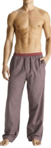 A240DS Calvin Klein Men's Elastic Logo Waistband Flannel Lounge Pant U5010DS New