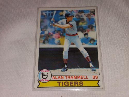 VINTAGE 1978 TOPPS ALLEN TRAMMELL TIGER'S BASEBALL #358 GD-VG