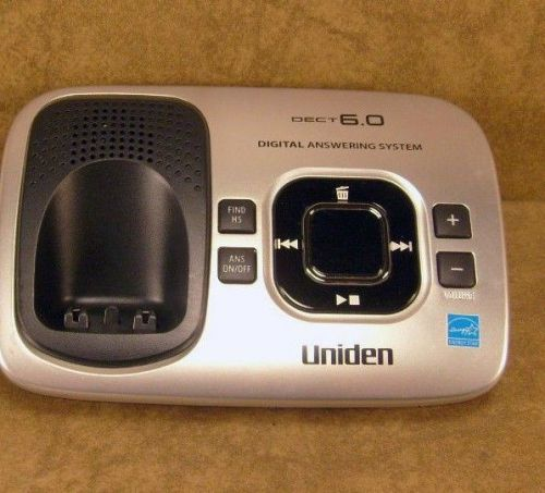 Uniden D1780 3 DECT 6.0 main charger base - cradle cordless phone charging stand