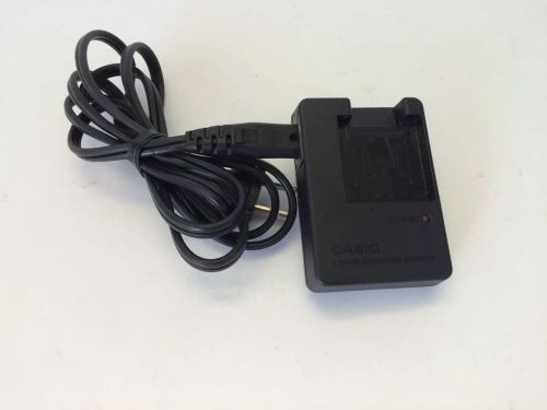 Casio BC 11L battery charger - camera plug adapter PSU ac