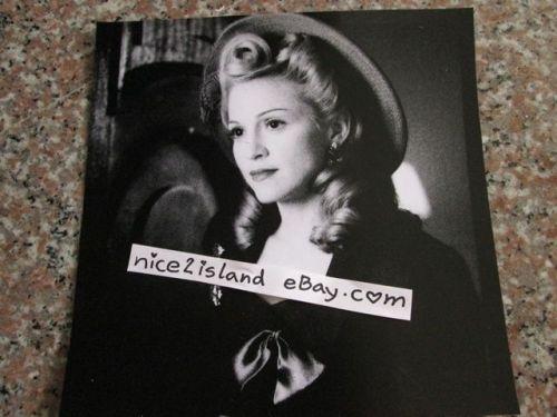 Madonna Photo 1996 Promo EVITA Movie Print Ad Picture Poster 8 x 8 in Waterproof