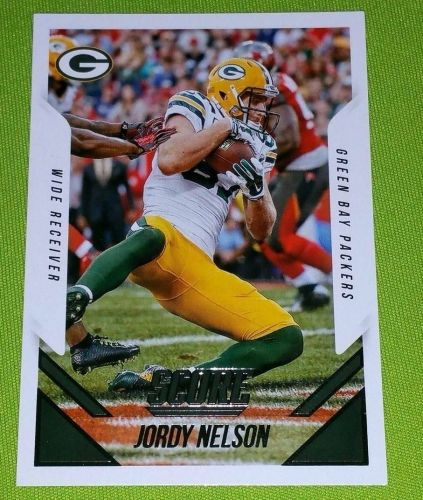 NFL 2015 PANINI JORDY NELSON PACKERS SUPERSTAR #14 MNT