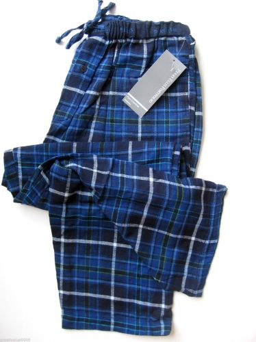 A0027 PERRY ELLIS Men's Drawing String Waistband Flannel Lounge Pant 862521 New