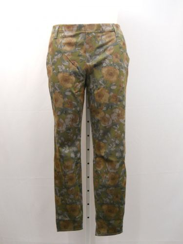 SIZE 20 XXL Womens Knit Jeggings FADED GLORY Floral Print Mid Rise Inseam 30