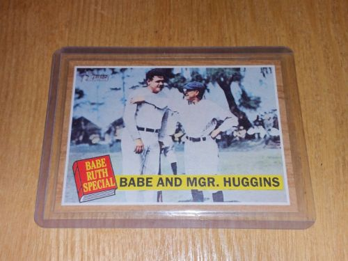 VINTAGE BABE RUTH SPECIAL 2011 TOPPS #137 GD-VG