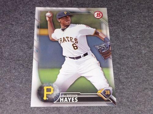 MLB Kenyan Hayes Pirates SUPERSTAR 2016 BOWMAN BASEBALL GEM MNT