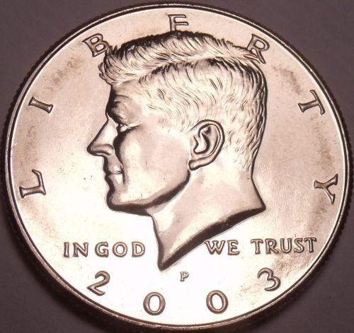 United States Unc 2003-P Kennedy Half Dollar~Free Shipping