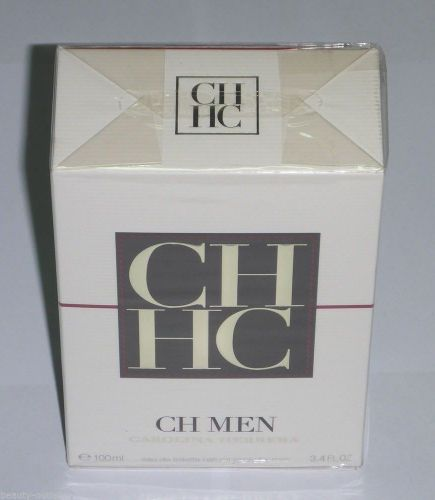 Carolina Herrera CH MEN EDT 100ml 3.4oz Eau de Toilette NEW Man Hombres Homens
