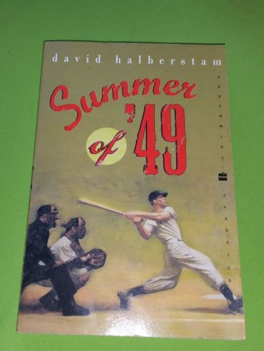 MLB SUMMER OF 49 David Halberstam BEST SELLER BASEBALL NOVEL