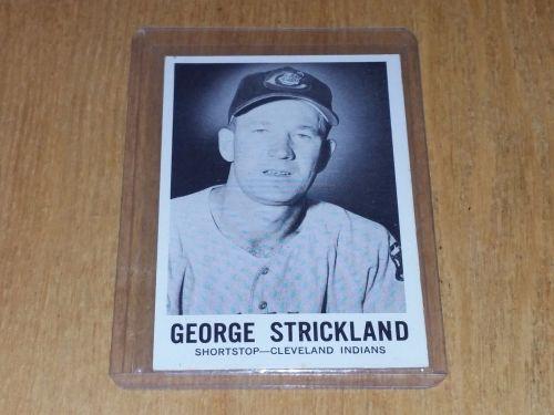 VINTAGE 1960 SPORTS NOVELTIES GEORGE STRICKLAND #30 GD-VG