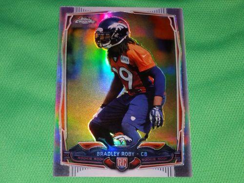 NFL Bradley Roby Denver Broncos 2014 Topps Chrome Refractor Rookie Mnt