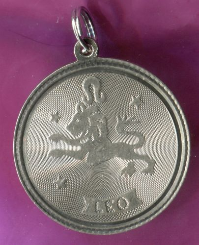 LEO charm AC STERLING 925 SILVER ZODIAC HOROSCOPE ASTROLOGY