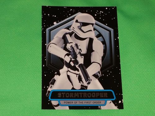 2016 Topps Star Wars STORMTROOPER Collectors Card Mnt