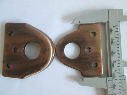 Vintage Hasp Cast iron Rustic Lock Tool Set 2 pcs Copper Colo, Add on Wood Door