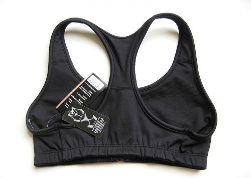 SB0038 Jocky NEW 5483006 Black Women's High Impact Racer Back Zipper Front Bra S